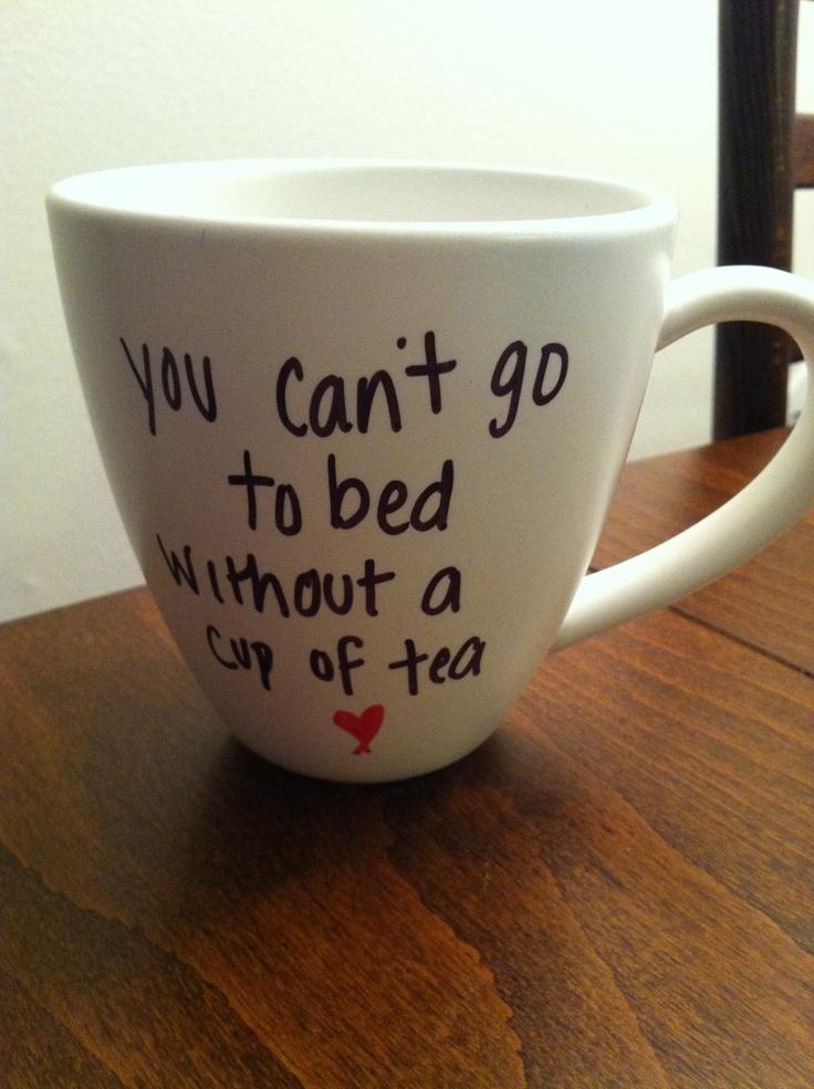 One Direction Little Things lyric mug. $15.00, via Etsy.