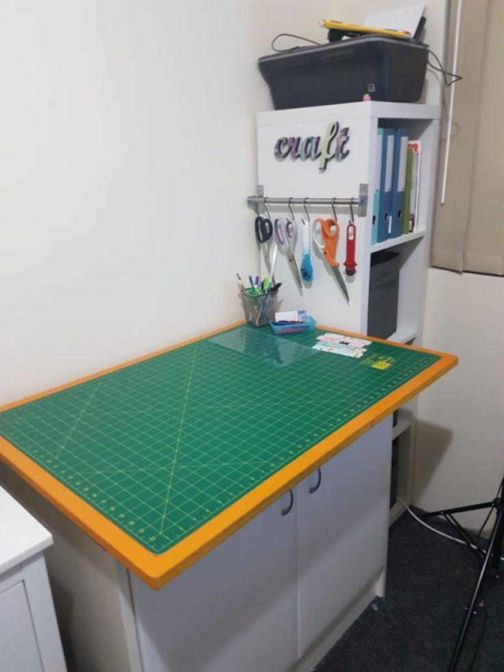 Sewing room make over