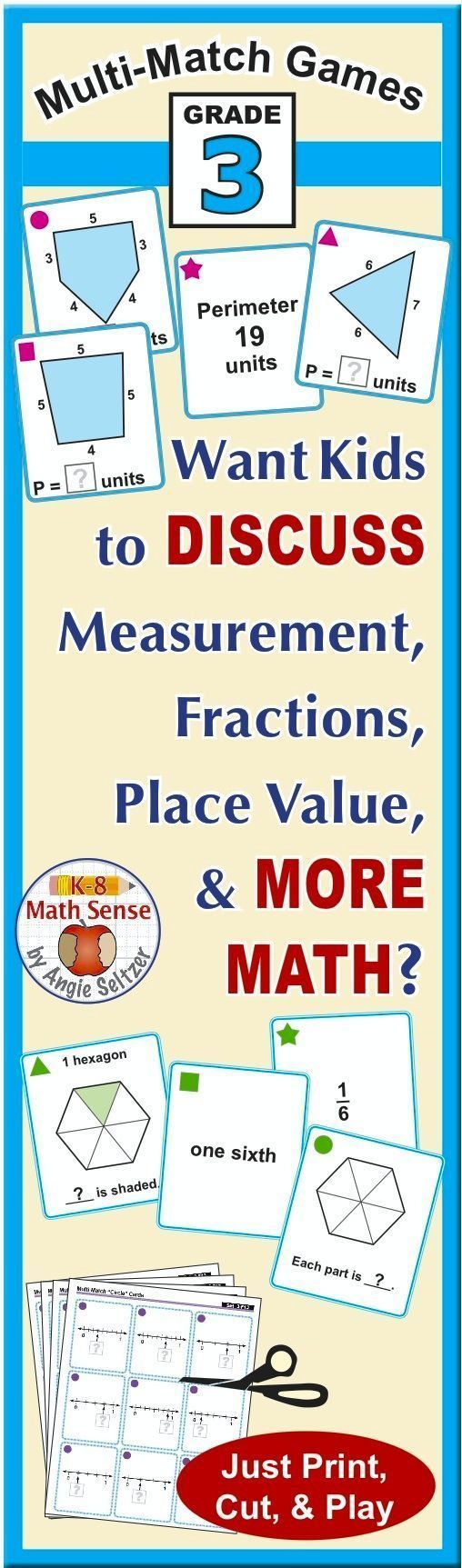 worksheet Fractions Of Shapes best 25 fractions of shapes ideas on pinterest 3d bonus bundle grade 3 multi match math games for common core