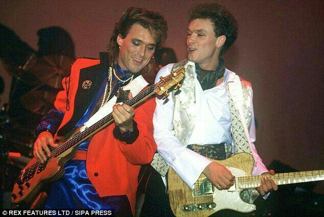 Gary Kemp and Martin Kemp from 80's British New Romantic band Spandau Ballet