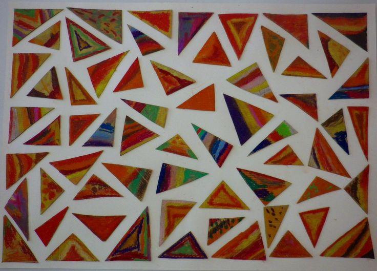 Όταν ένα κουτί παπουτσιών μεταμορφώνεται σε ένα έργο τέχνης… Όταν πολλά χάρτινα τριγωνάκια συμπληρώνουν ένα μοναδικό πάζλ… Όταν απλές γραμμές από θερμά χρώματα φτιάχνουν μια εικόνα φθ…