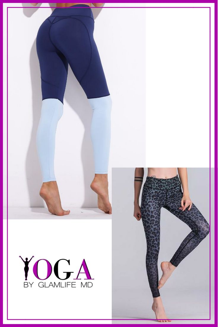 Yoga pants by GlamLifeMD. Free Shipping US