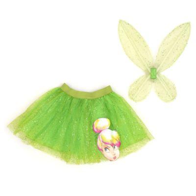 Giv udklædningen et løft med vores super fine Klokkeblomst strutskørt. Designet med skinnende grønne lag og flot figurprint og leveres med fe-vinger i netmateriale, som fuldender looket.