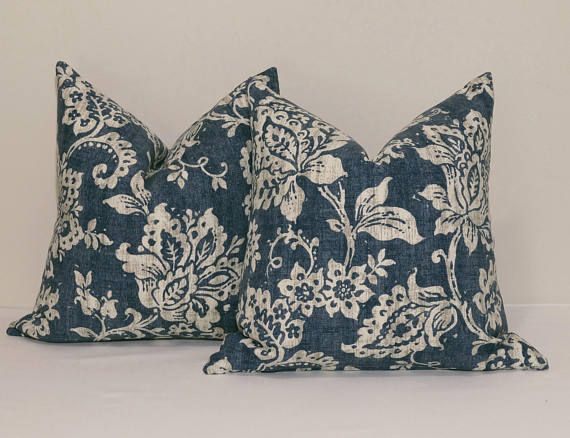 Check out this item in my Etsy shop https://www.etsy.com/au/listing/559699180/indigo-blue-floral-cushion-covers