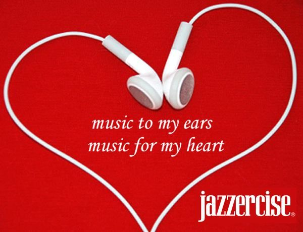 Pin this if Jazzercise is music for your heart. Thanks Monterey Jazzercise!