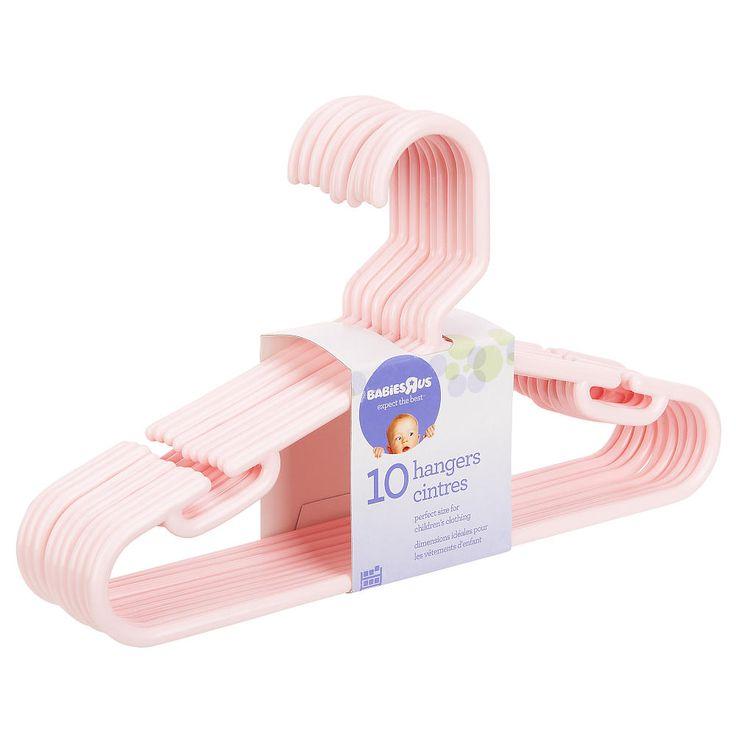"""Babies R Us 10 Pack Hangers - Pink - Babies R Us - Babies """"R"""" Us"""
