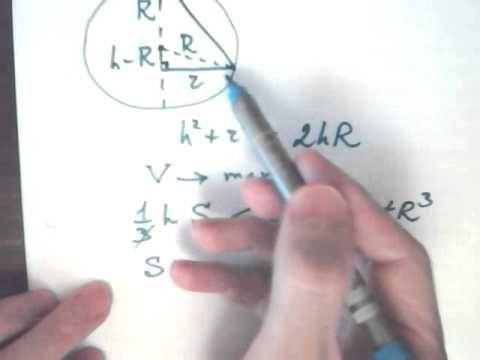 В шаре находится правильная n угольная пирамида. Доказать что при n=3 пирамида занимает менее 30% объёма шара. Окружности с центрами в точках P и Q не имеют общих точек. Внутренняя общая касательная к этим окружностям делит отрезок, соединяющий их центры, в отношении a:b. Докажите, что диаметры этих окружностей относятся также a:b.