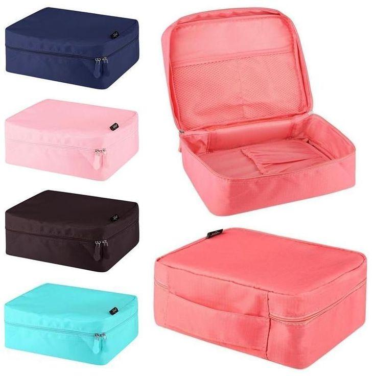 Makeup Travel Cosmetic Bag Case Multifunction Pouch Toiletry Zip Wash Organizer #ZODACA