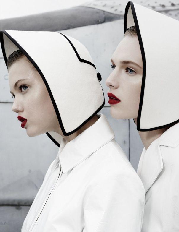 Lindsey Wixson & Ashleigh Good photographed by Emma Summerton forW Magazine November 2013
