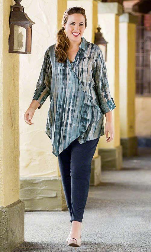 Avalon Blouse / MiB Plus Size Fashion for Women / Summer Fashion http://www.makingitbig.com/product/4236/