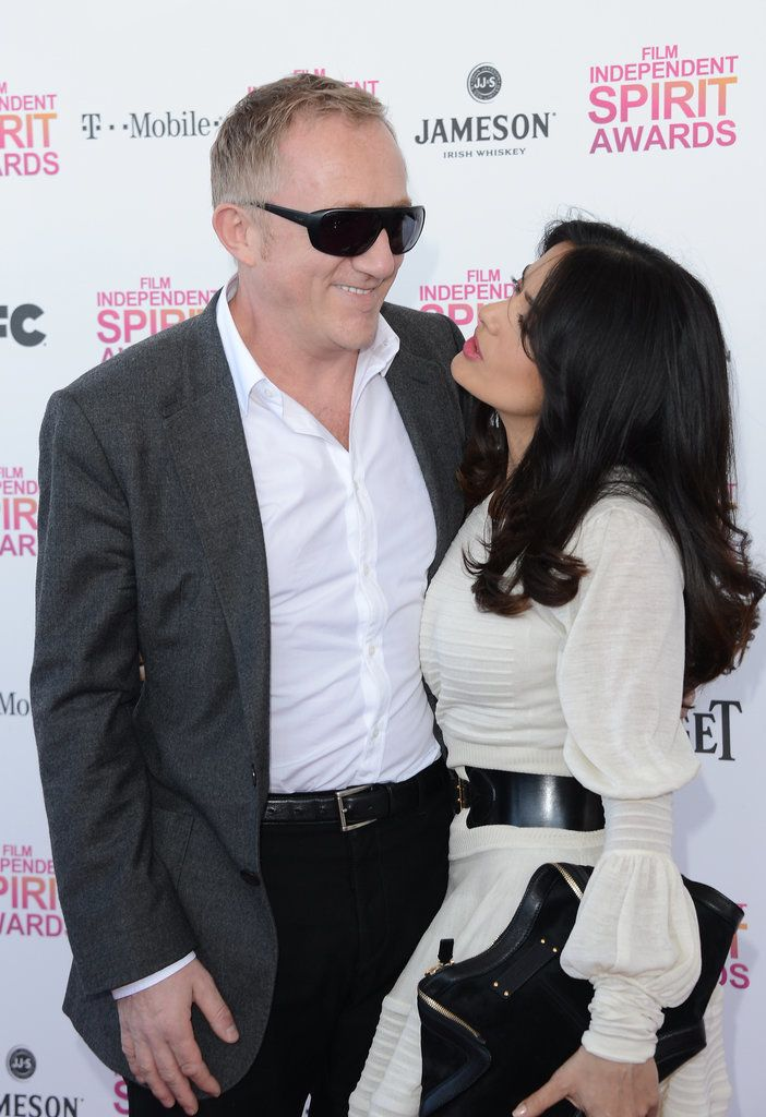 In honor of tFrançois-Henri Pinault and Salma Hayek's anniversary, we're rounding up their sweetest public moments from as far back as the beginning of their courtship in 2006.
