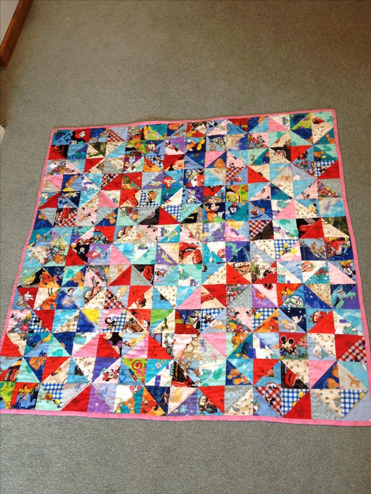 I-spy Disney quilt  What a cute idea!!