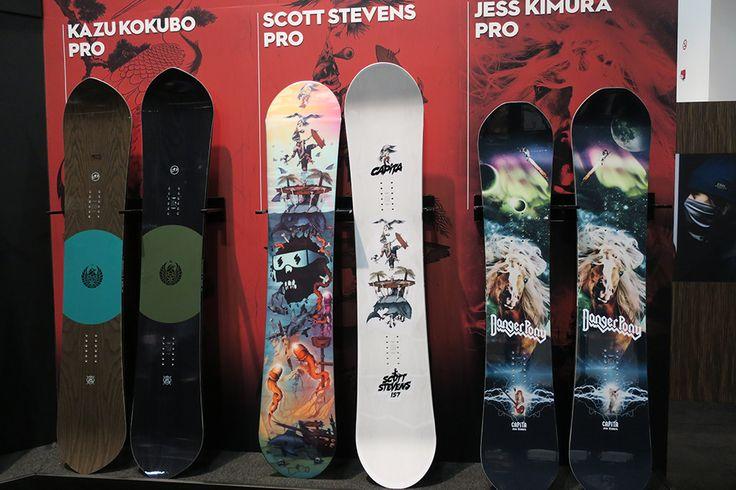 Capita, GNU, Never Summer Snowboards 2017-2018
