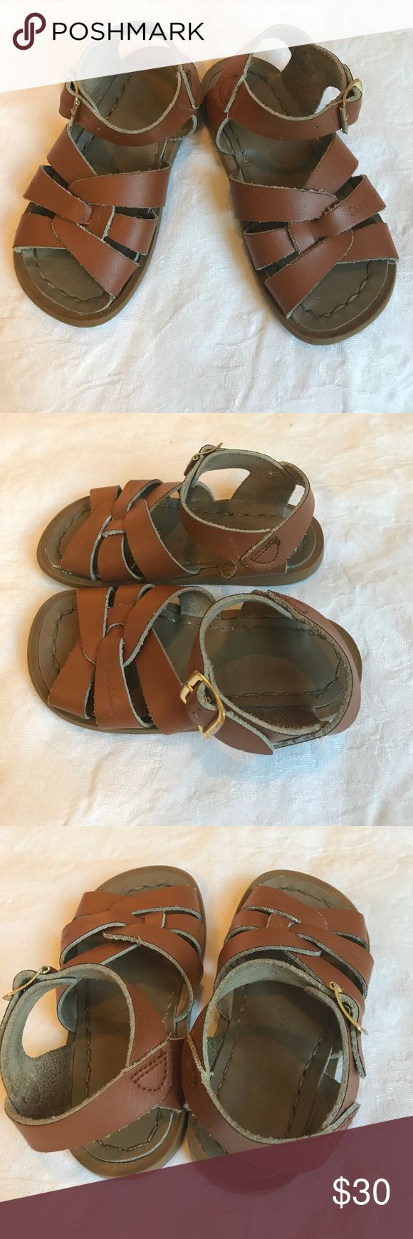 Saltwater Sandals size 8 Originals Brown Saltwater Sandals size 8 Originals Brown Leather in Excellent Condition made by Hoy Salt Water Sandals by Hoy Shoes Sandals & Flip Flops