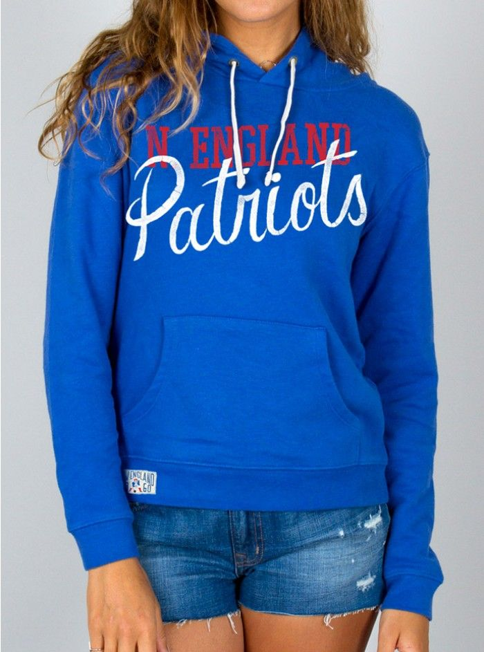f4c7e2bcc90a Junk Food Clothing - NFL New England Patriots Pullover Hoodie - NFL -  Collections - Womens