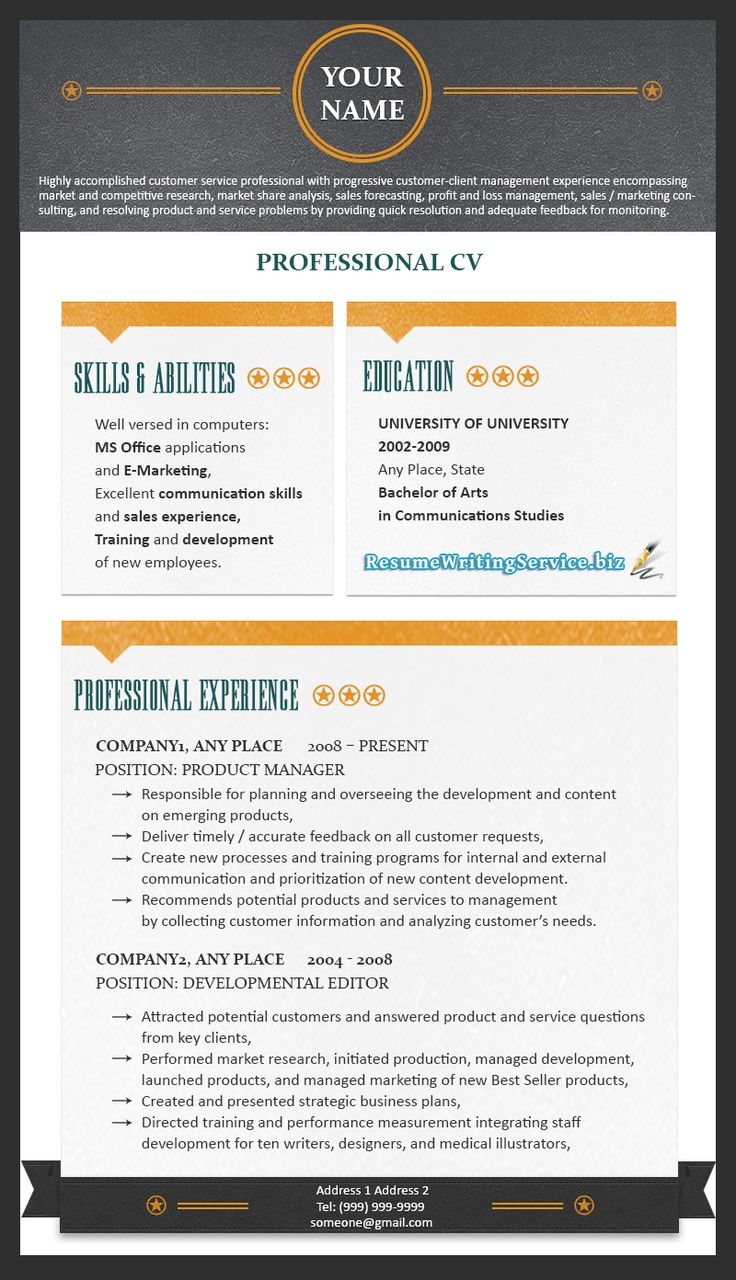 19 Best Resume 2015 Images On Pinterest Resume Templates Best