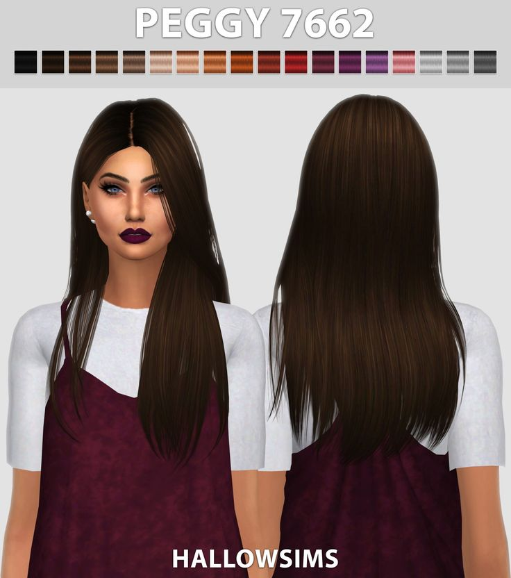 the newest hair styles hallow sims peggy s 7662 hair retextured sims 4 hairs 7662