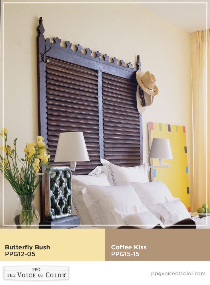 Tropical paradise style inspiration includes butterfly for Tropical paint colors