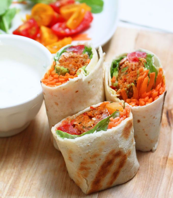 ...what Ina loves ❤ : Der perfekte Snack für zwischendurch: Falafel Wraps