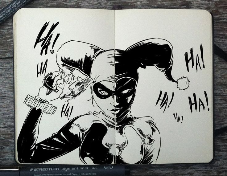 #259 Harley Quinn by 365-DaysOfDoodles.deviantart.com on @deviantART