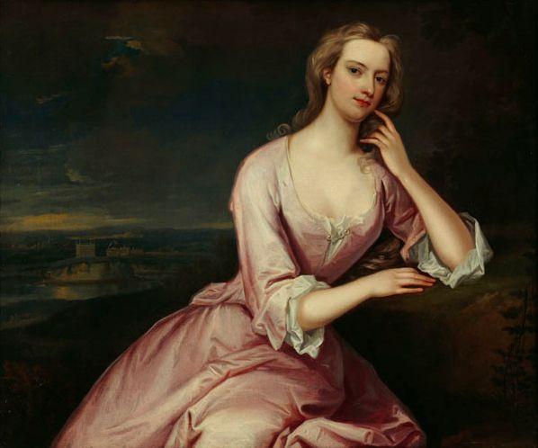 1724 Henrietta Howard, née Hobart by Charles Jervas (Marble Hill House - London UK) | Grand Ladies | gogm