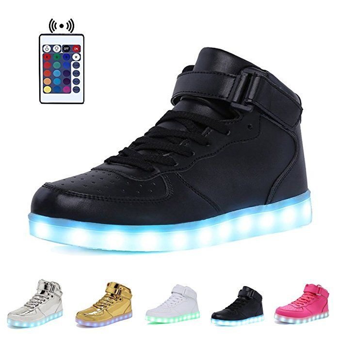 WONZOM FASHION LED Light Up Shoes USB
