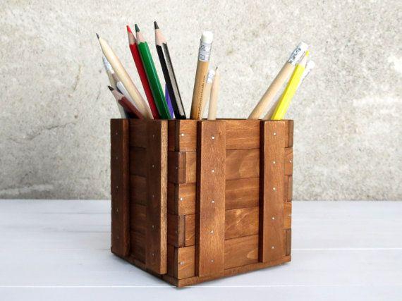 Wooden Pen Stand Designs : Ideas about pen organizer on pinterest candy