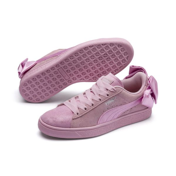 Suede bow, Puma suede, Womens sneakers