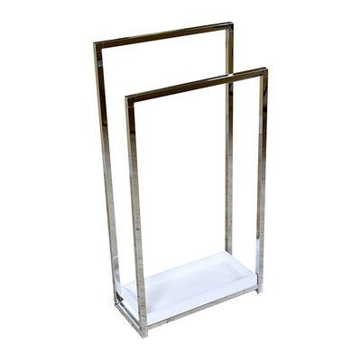 Kingston Brass Edenscape Free Standing Towel Rack Finish: Polished Chrome