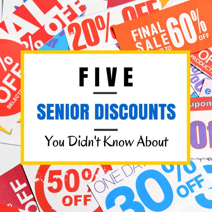 Top 5 Senior Discounts You Didn't Know About #seniordiscounts