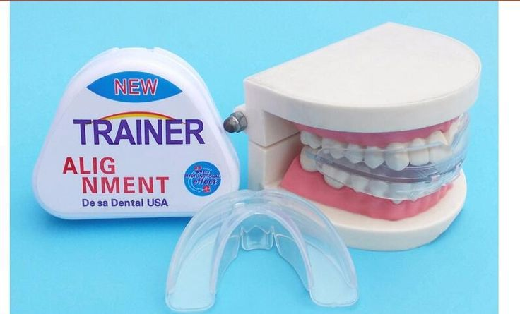 [Visit to Buy] 2017mrc NEW 1pcs trainer t4k Newest Version No Odor Teeth Braces Dental Tooth Orthodontic Appliance Trainer Alignment Braces Tee #Advertisement
