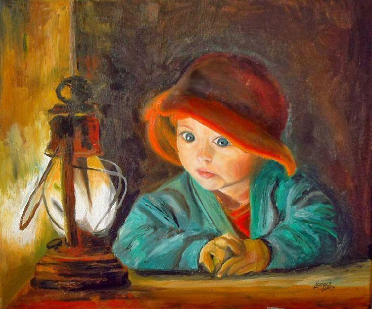 By marek langowski marek langowski art pinterest tableau et jolies - Kinder schilderij ...