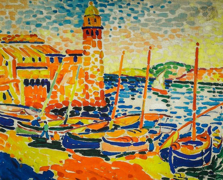 André Derain, Port with Lighthouse.
