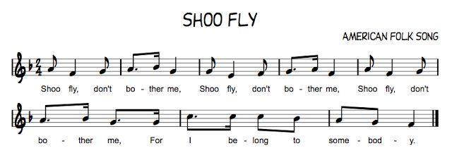 Shoo fly Song
