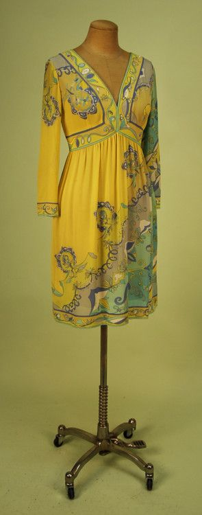 Dress  Emilio Pucci, 1960s  Whitaker Auctions
