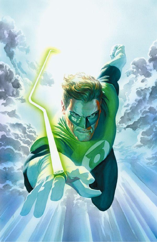 Lanterna Verde de Alex Ross.