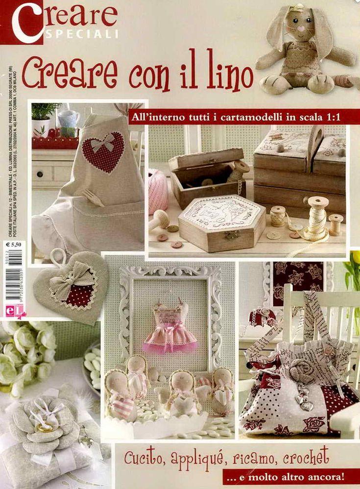 CREARE SPECIALI: CREARE CON IL LINO № DECEMBER 2013