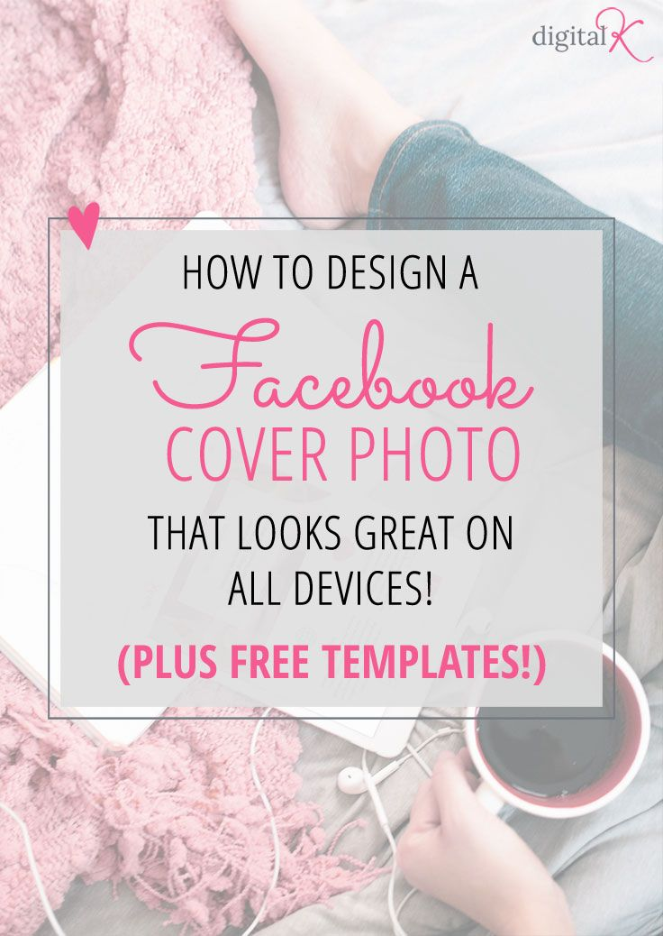 Instructions plus free templates for designing your Facebook Cover Photos with the new 2016 size and layout. Create designs that look great on all devices - desktop and mobile!