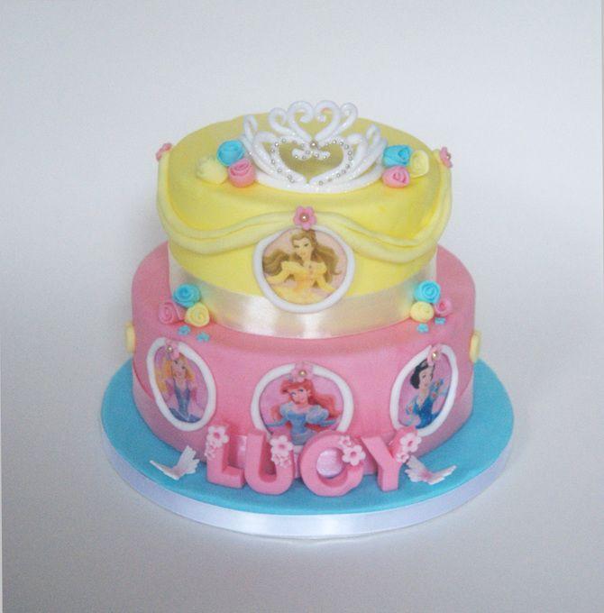 ... Birthday Cakes on Pinterest  Disney princess cakes, Princess cakes
