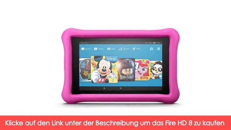 Fire HD 8 Kids Edition-Tablet, 20,3 cm (8 Zoll) HD Display, 32 GB, pinke...