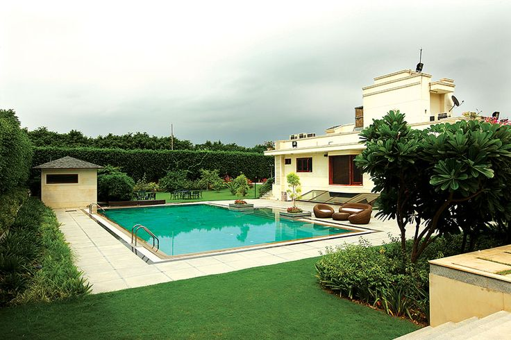 Beautiful Luxury Farmhouse in South Delhi Luxury #Villas #Homes #Farmhouse #Nagpal Builders #Real Estate #Properties