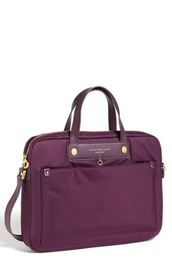 MARC BY MARC JACOBS 'Preppy Nylon' Computer Commuter Bag (13 Inch) available at #Nordstrom