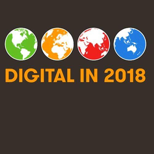 Noul Raport Global Digital 2018 oferit de către We Are Social și Hootsuite arată că în prezent există peste 4 miliarde de oameni din întreaga lume ce folosesc internetul. Citește noul Raport Global Digital 2018 pentru cele mai noi informații...  #DigitalSuperhero
