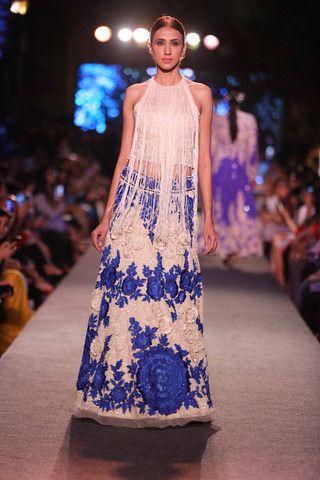 Manish Malhotra at Lakmè Fashion Week | VIVA-LUXE #BlueRunway #LFW15 #IndianDesigner