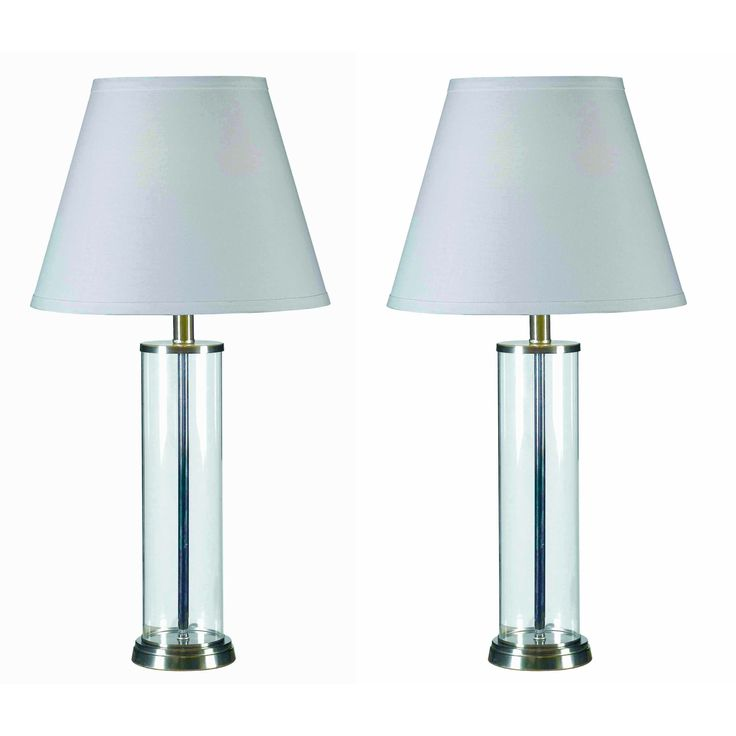 Best 25 Clear glass table lamp ideas on Pinterest Clear glass