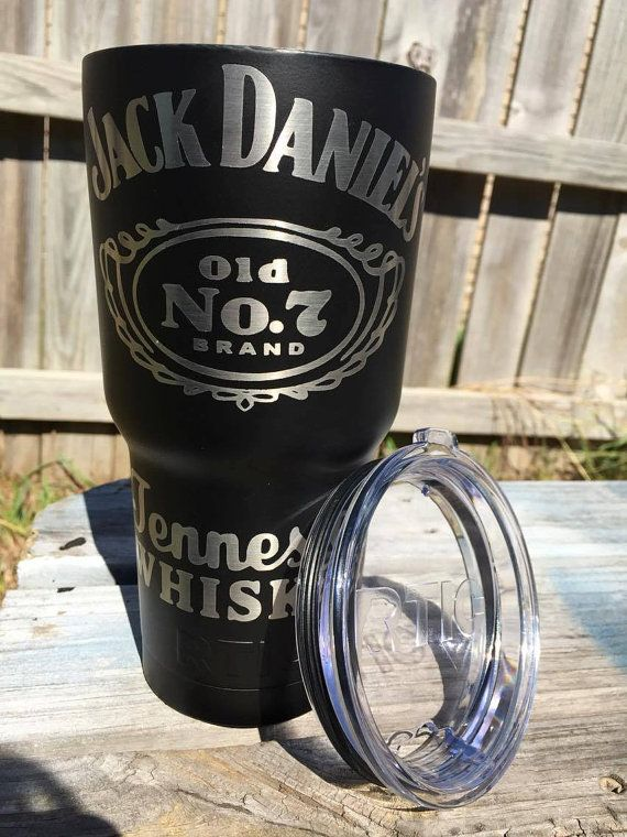 30oz Jack Daniels RTIC cup by PapercutGraphics on Etsy $38 ...