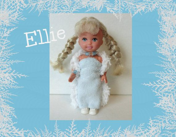 """OOAK Kelly Doll """"ELLIE"""" nieuwe Custom Mode & sieraden + schoenen - blonde Barbie zus haar - gevlochten"""