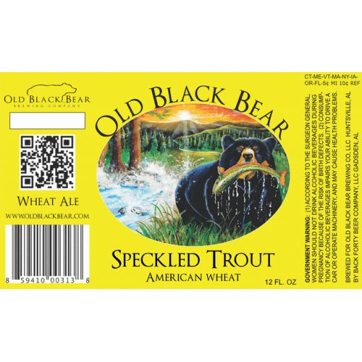 Speckled Trout : Old Black Bear Brewing Company : BreweryDB.com