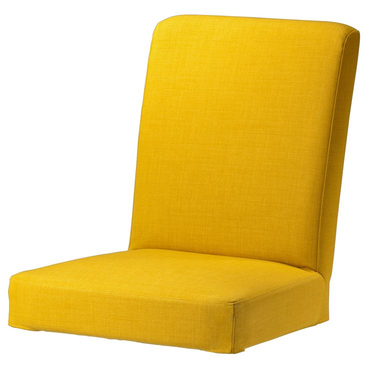 Henriksdal Chair Cover Skiftebo Yellow Ikea Home I