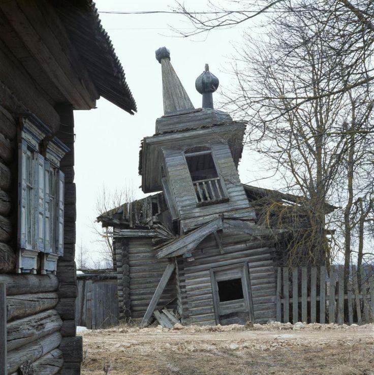 russian wooden churches